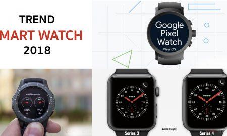 Trend Smart Watch ในปี 2018