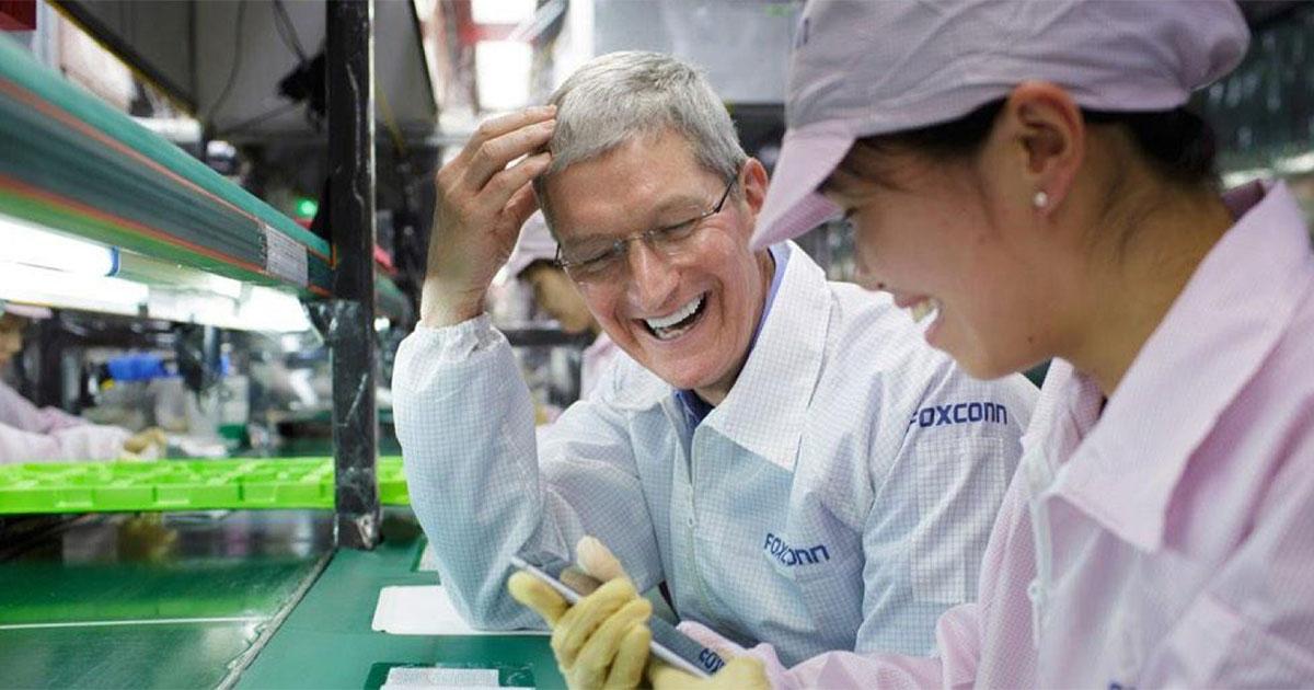 Apple Supplier Tim Cook