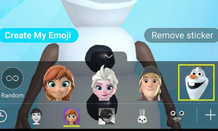 AR Emoji Frozen