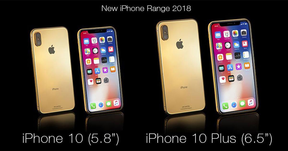iPhone XS Goldgenie