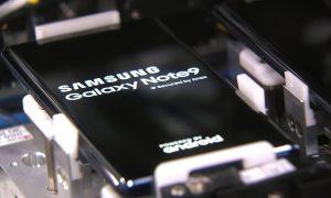 samsung galaxy note 9 factory