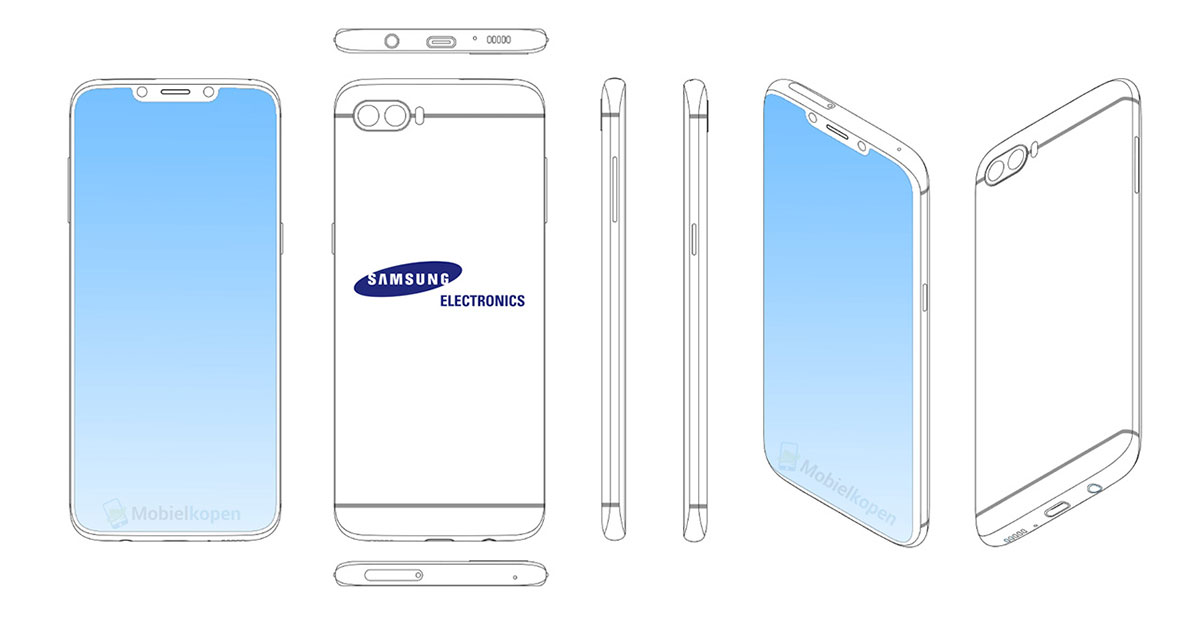 Samsung Notch Patent