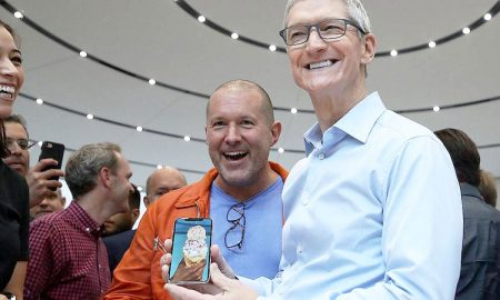 tim cook jony ive iphone x