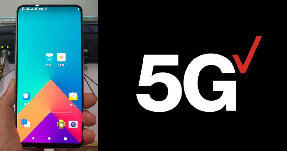 5G with Vivo Nex S