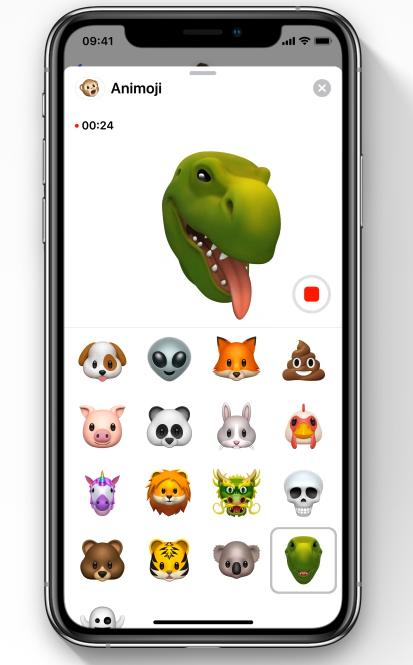 Animoji iOS 12