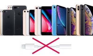 Apple iPhone Not include 3.5 mm Adaptor