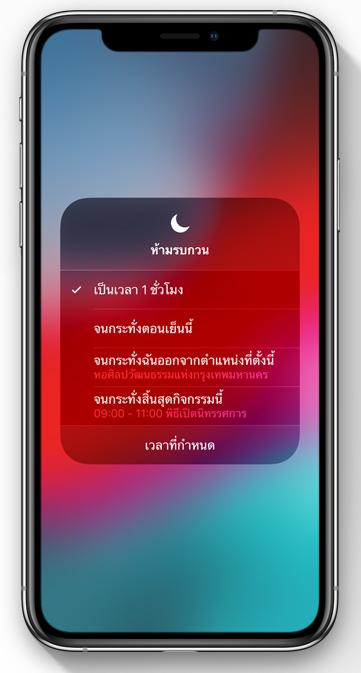 Do Not Disturb iOS 12