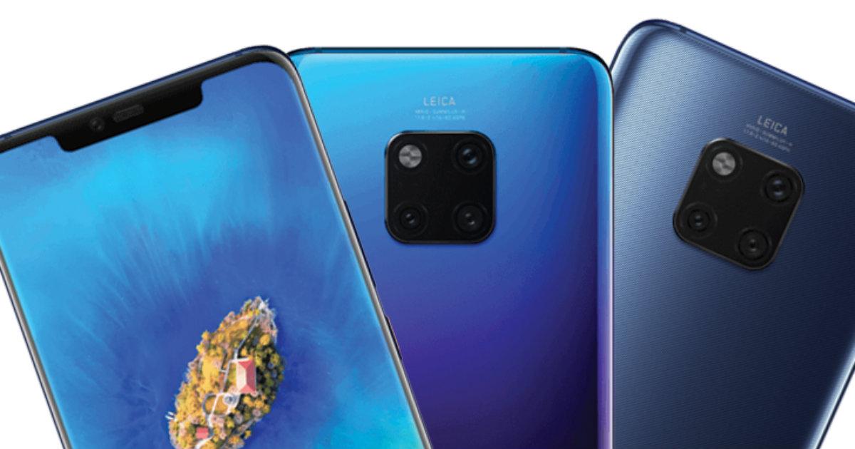 Huawei Mate 20 Pro Leaked