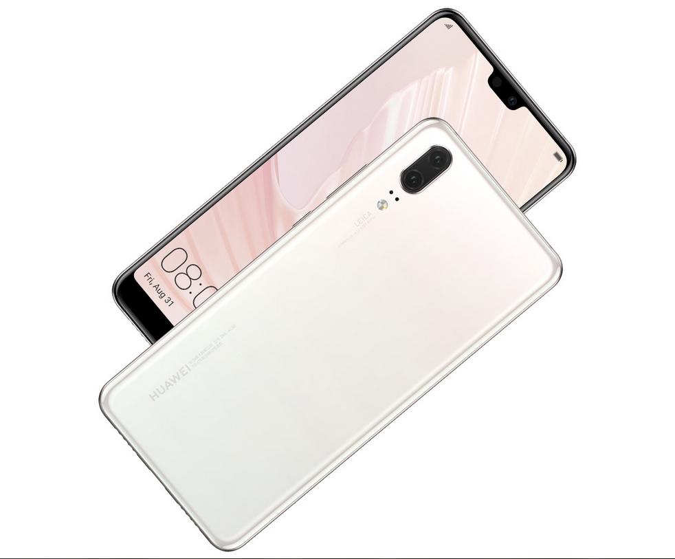 Huawei P20 Pearl White