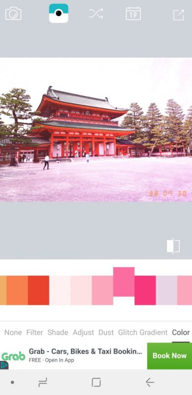 Kdak Filter - Analog film light leak photo filters