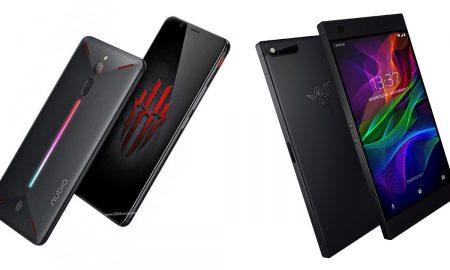Nubia Red Magic and Razer Phone
