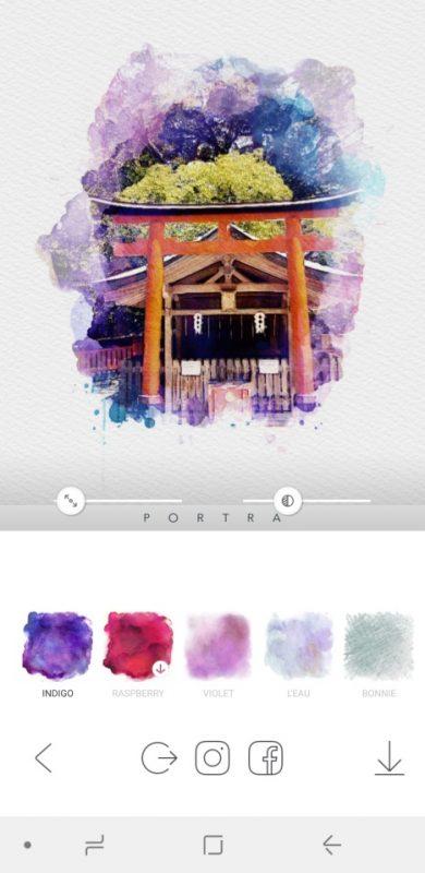 PORTRA - Stunning art filter