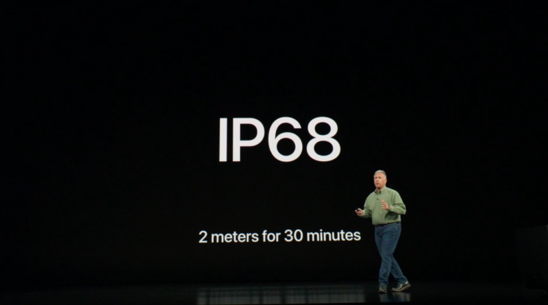 iPhone Xs IP68