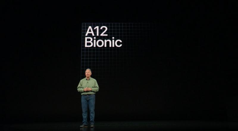 iPhone Xs A12 Bionic CPU