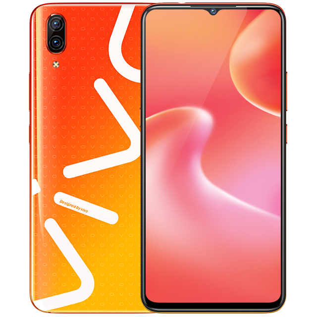 Vivo-X23-Fashion-Orange