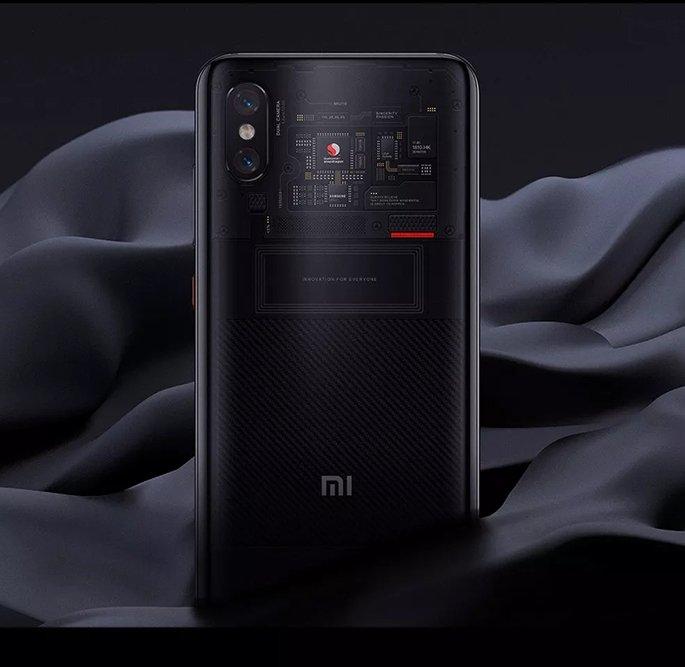 Xiaomi Mi 8 Pro Ochre Black