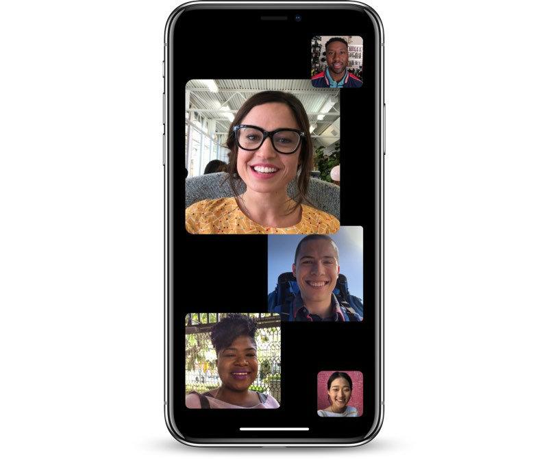iOS 12.1 Group Facetime