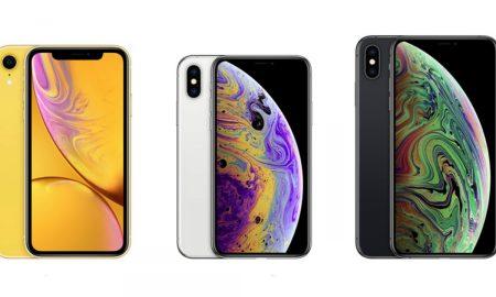 iPhone XR iPhone XS iPhone XS Max