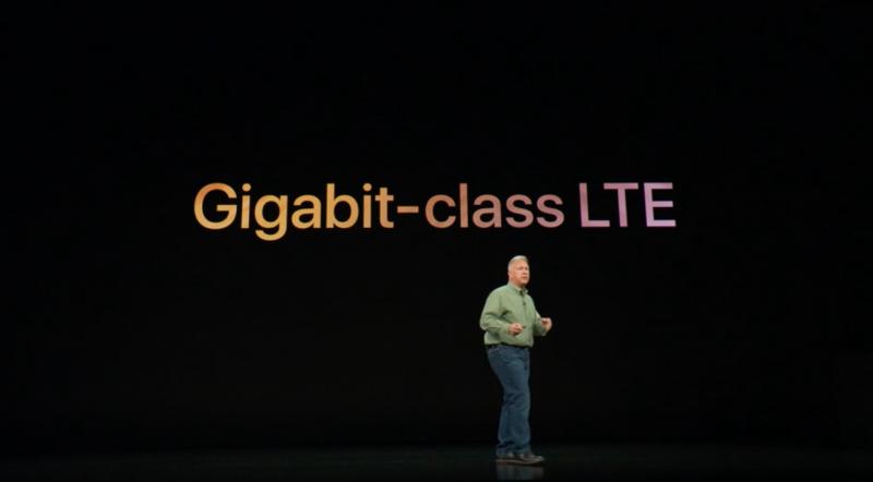 iPhone Xs Gigabit Class LTE