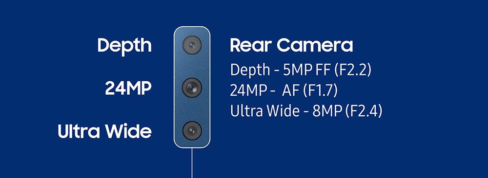กล้อง Samsung Galaxy A7 ถ่ายภาพมุมกว้างด้วยโหมด Ultra Wide
