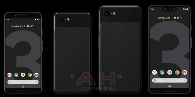 Google Pixel 3 Black Color