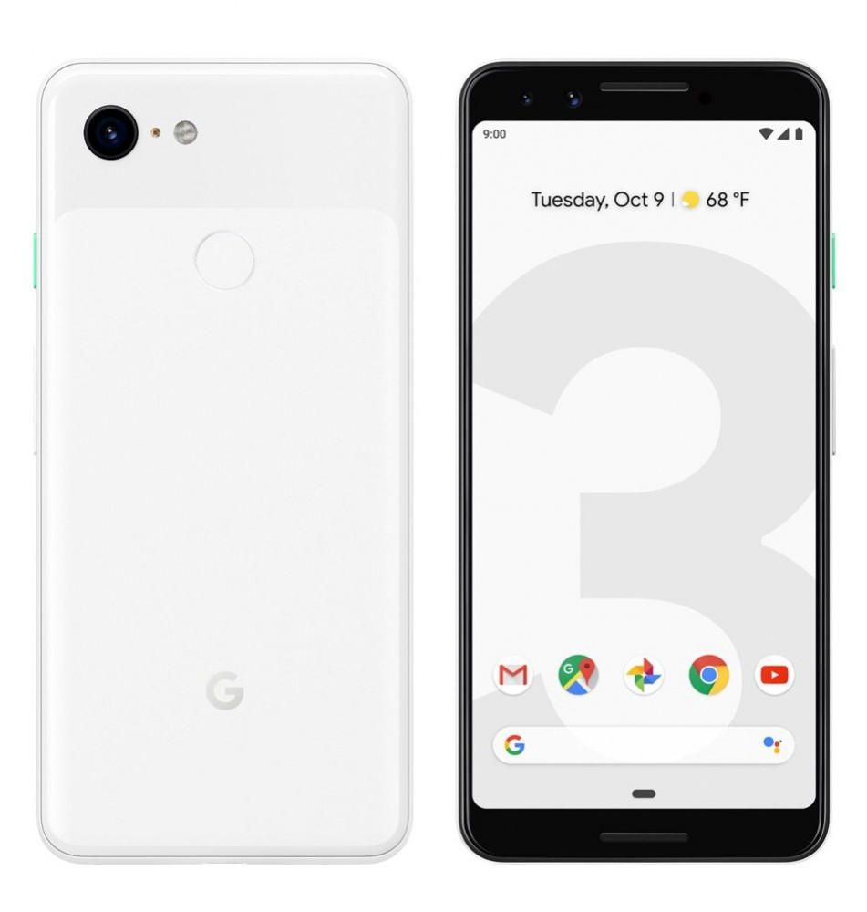 Google Pixel 3 Clearly White
