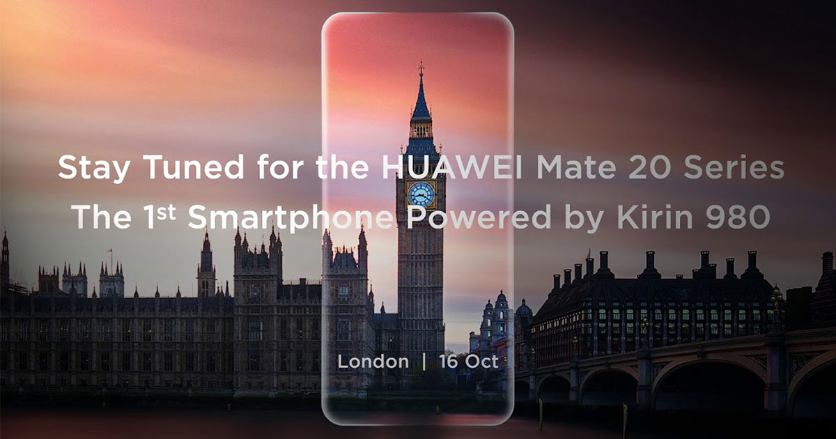 Huawei Mate 20 Series Coming Soon