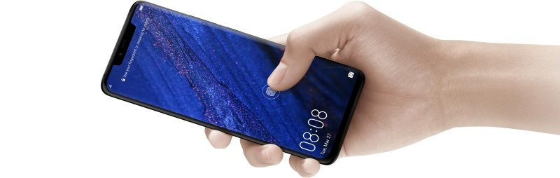 Huawei Mate 20 Pro with Bio Fingerprint Dynamic Pressure Sensing