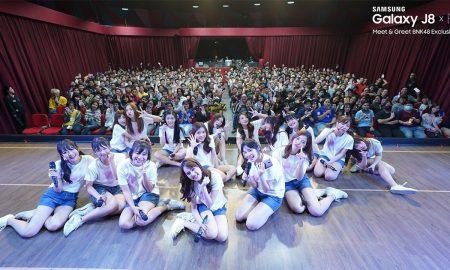 Samsung Galaxy J8 x BNK48 Meet and Greet