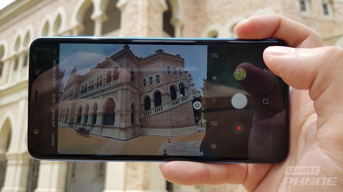 ลองกล้อง Samsung Galaxy A7 ถ่ายภาพมุมกว้างด้วยโหมด Ultra Wide
