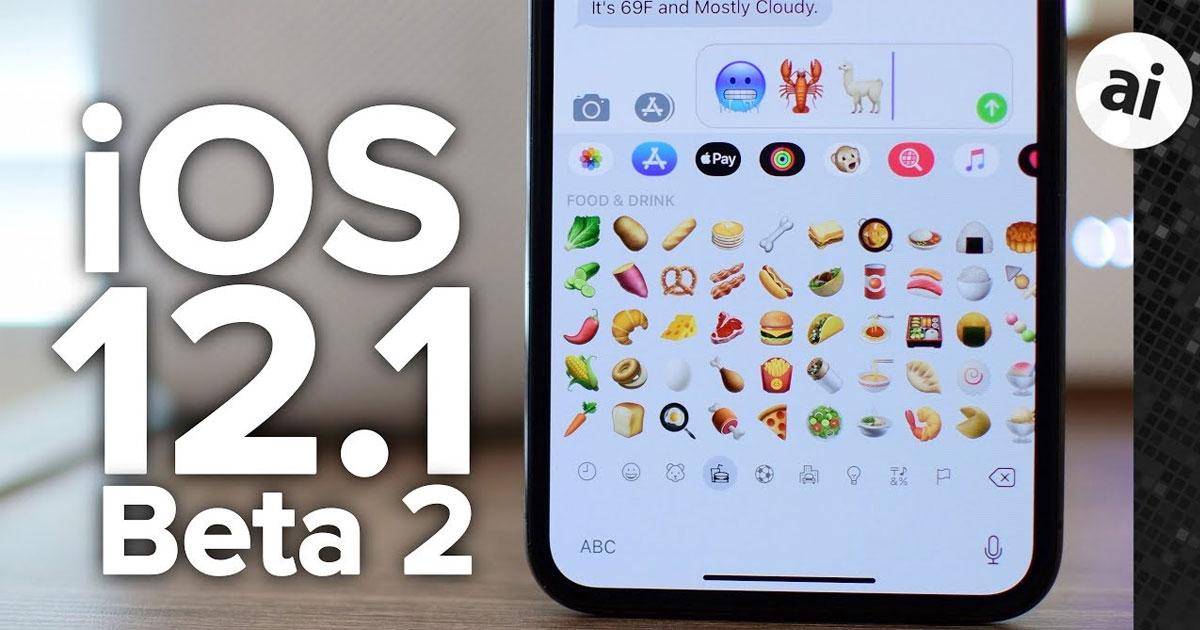 iOS 12.1 Beta 2