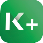 new k plus logo