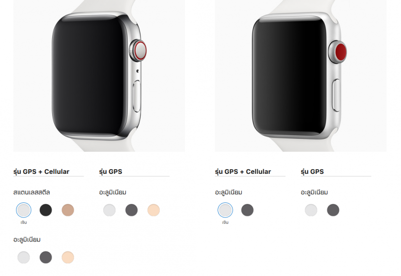Apple Watch Series 4 Compare
