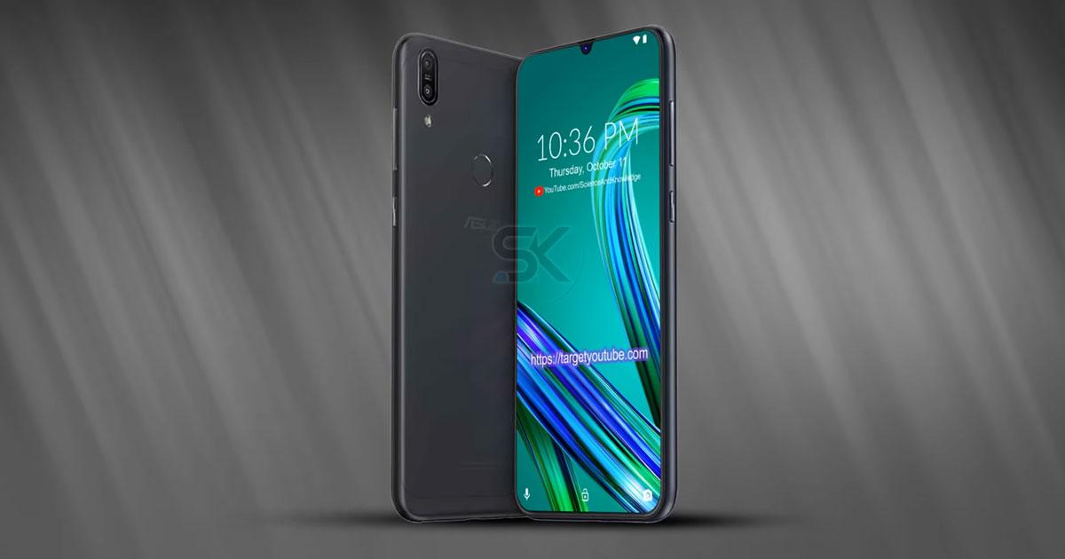 Asus zenfone Max Pro M2 Concept