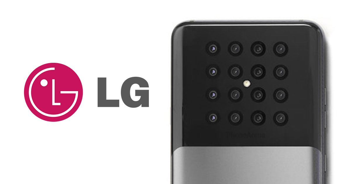 LG 16 lens camera concept