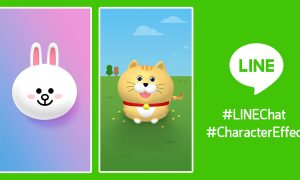 LINEChat CharacterEffect