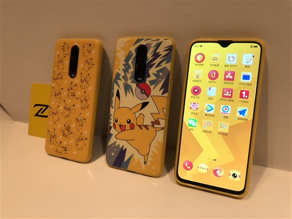 Oppo R17 Pro with Pokemon Case