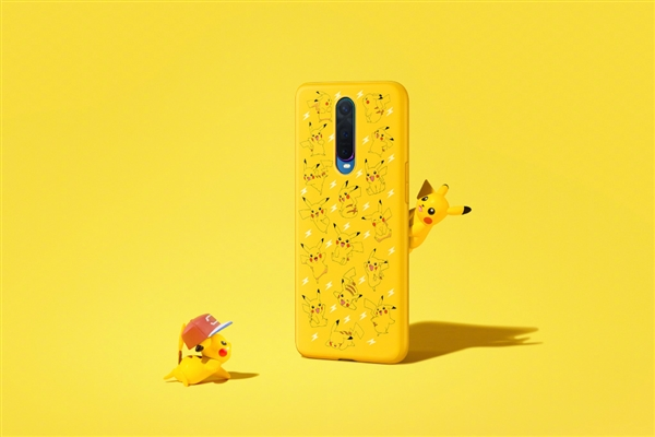 Oppo R17 Pro with Pokemon Case 2