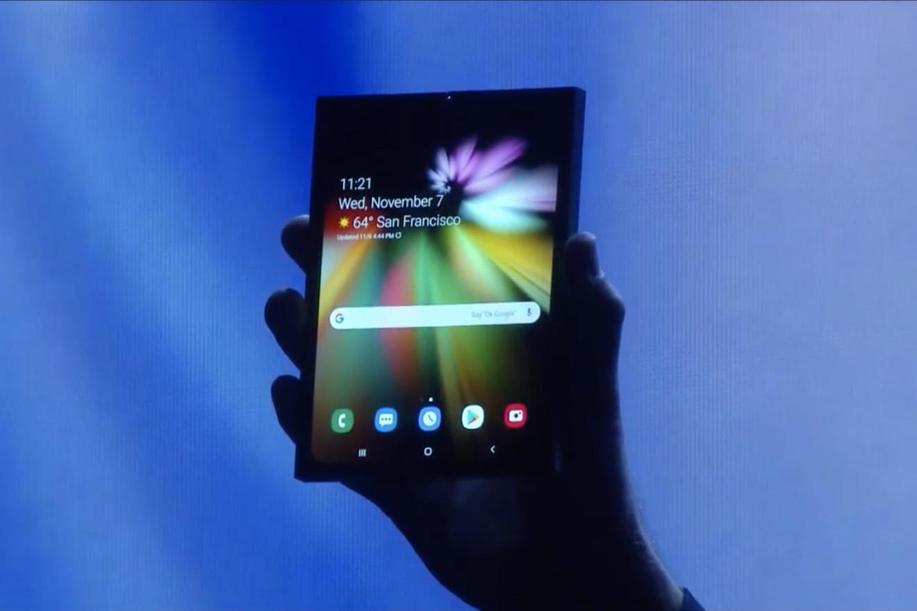 Samsung Foldable Phone – 2
