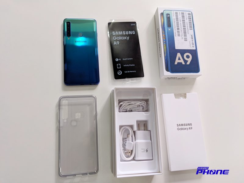 Samsung Galaxy A9 2019 All Unboxing