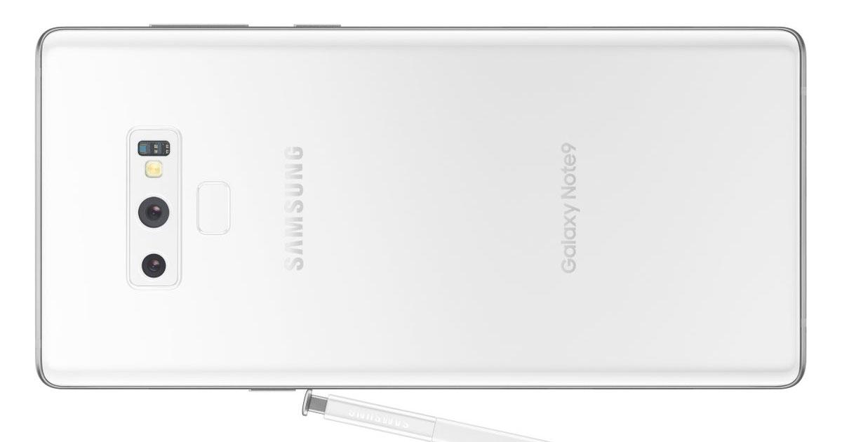 Samsung Galaxy Note 9 White