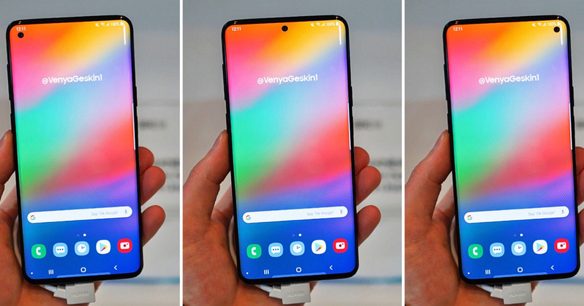 Samsung Galaxy S10 Lite Concept