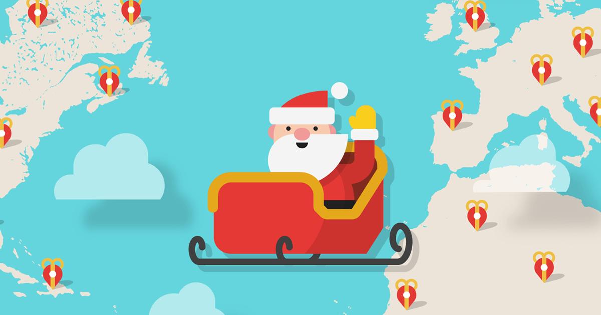 Google Maps Santa tracker