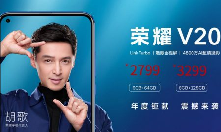 Honor View 20 or Honor V20