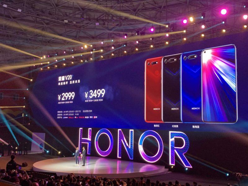 Honor View 20 Price