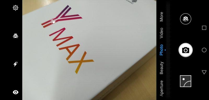 Huawei Y Max Screenshot