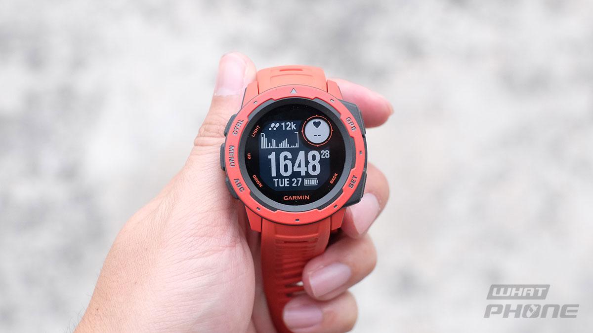 รีวิว Garmin Instinct นาฬิกา GPS มัลติสปอร์ต