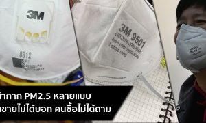 หน้ากาก N95 ฝุ่นละออง PM2.5