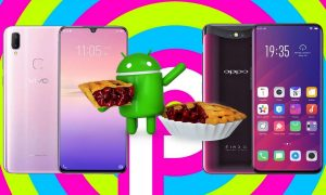 Oppo Find X and Vivo V11i Android 9 Pie