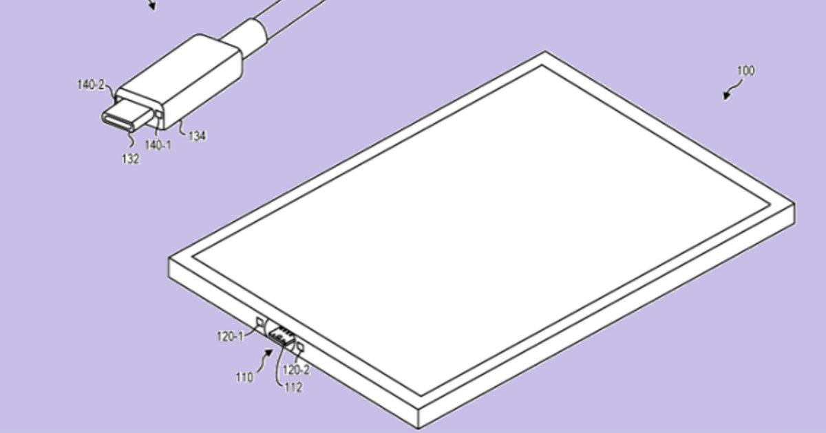Microsoft USB Type C Patent Header